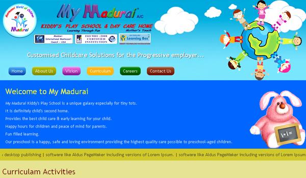 mymadurai | school web site