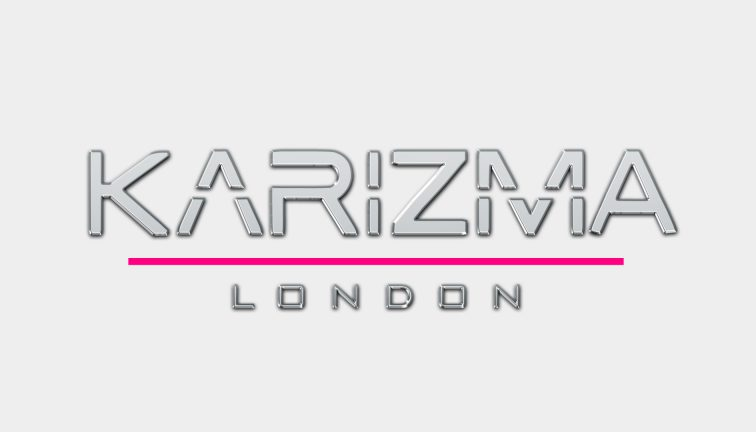 karizma London 3D logo animation