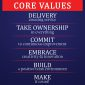 well graphics designing, motivating words Core Values in Madurai, India